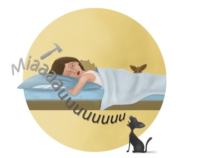 wake - illustration - kel-4422 | ello
