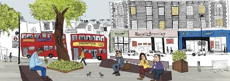 Duke York Square, London - london - nanu_illustration | ello