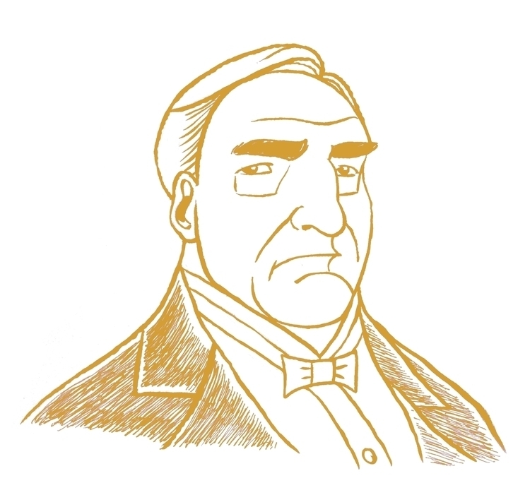 Carson Downton Abbey. Inked bru - zenink | ello