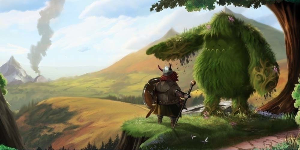 Destiny Awaits - illustration, painting - darrenlewis | ello