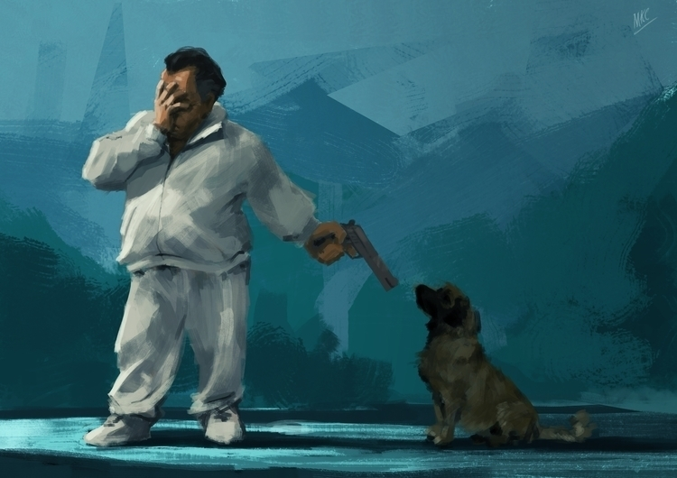 Killing loyalty - illustration, characterdesign - maxkclifford | ello