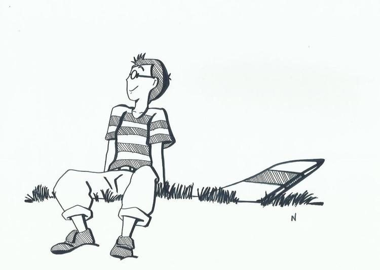 Tombo - illustration, animation - novelia | ello
