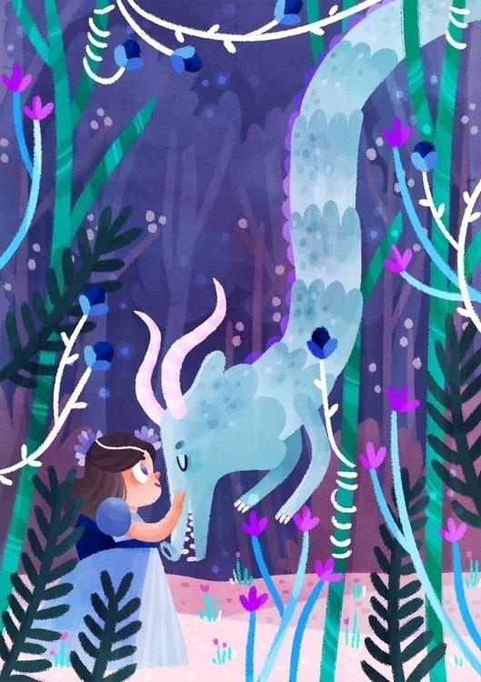 princess, dragon, fairytales - imnot12 | ello