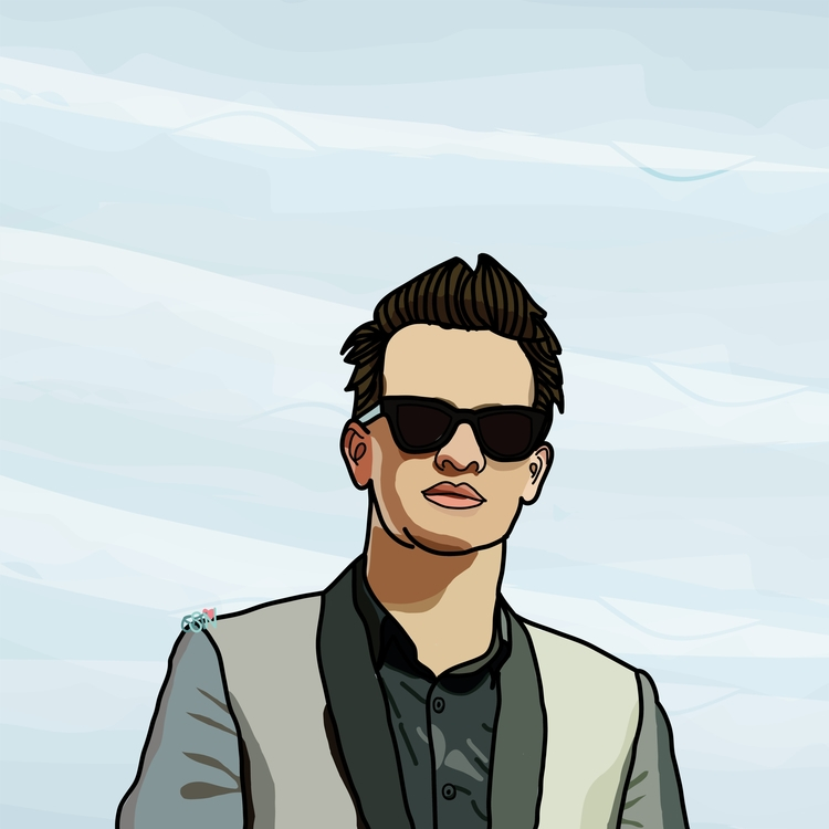 Brendon Urie Panic! Disco - illustration - qistinaiskandar | ello