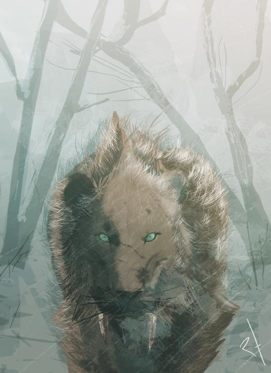 tiger, sabretoothtiger - rodrigofernandes-7444 | ello