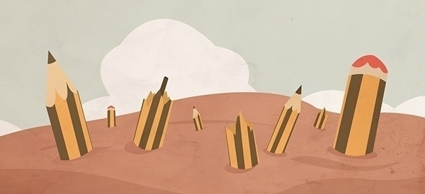 pencil, sand, broken - mattiddi | ello