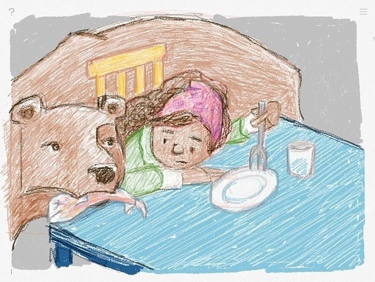 Heather, book project - illustration - zenink | ello