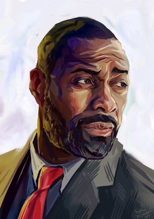 Idris Elba detective John Luthe - miroedova   ello