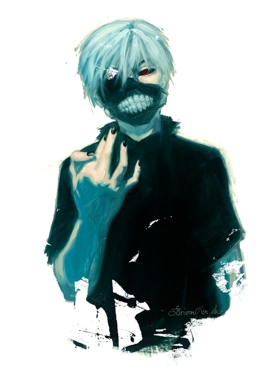 Ken Kakeni, Tokyo Ghoul Brian L - brianlei | ello