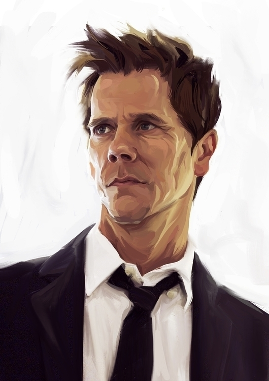 Kevin Bacon detective Ryan Hard - miroedova | ello