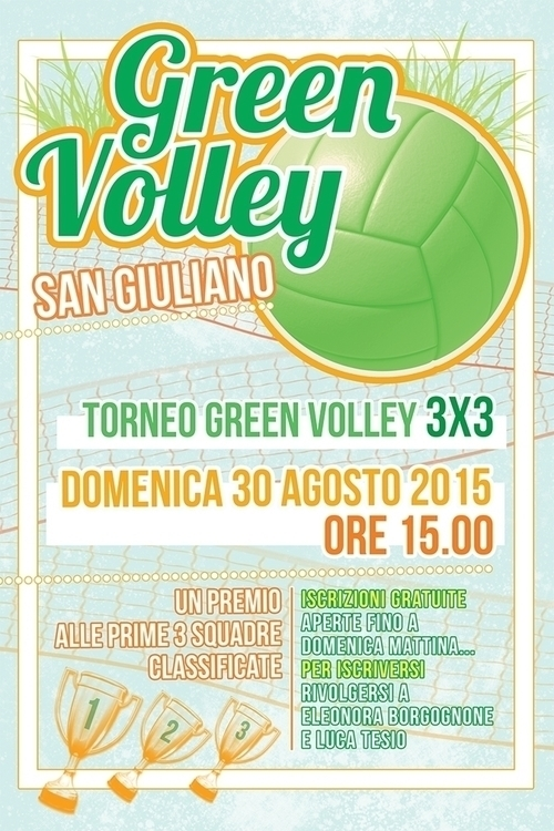 volleyball, poster, graphic - mattiddi | ello