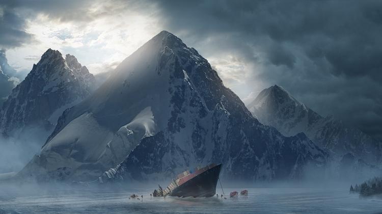 Personal concept environment - shipwreck - julienhauville | ello