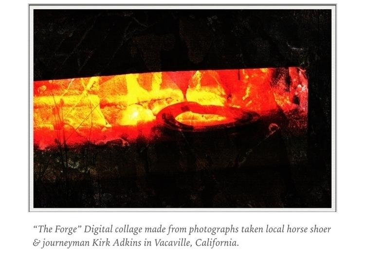 Digital shoeing collage - digitalart - bioniccowgirl | ello