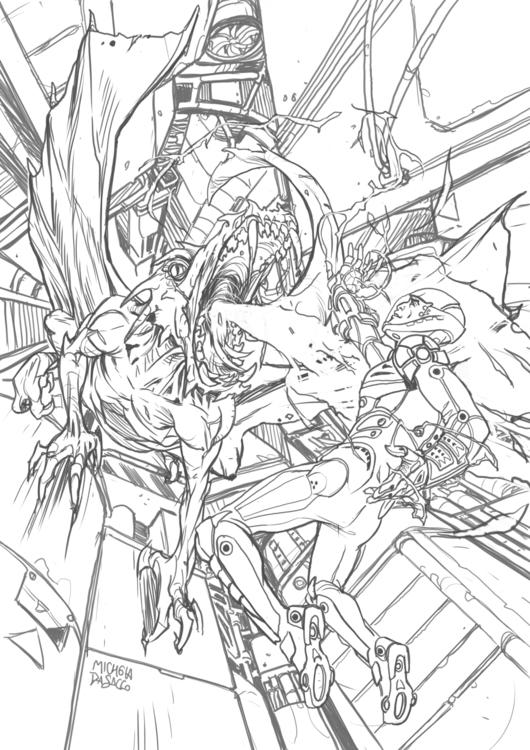 Commission (2015 - illustration - micheladasacco | ello