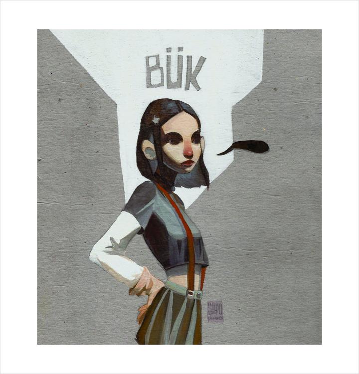 BÜK - illustration, sapolendario - sapolendario | ello
