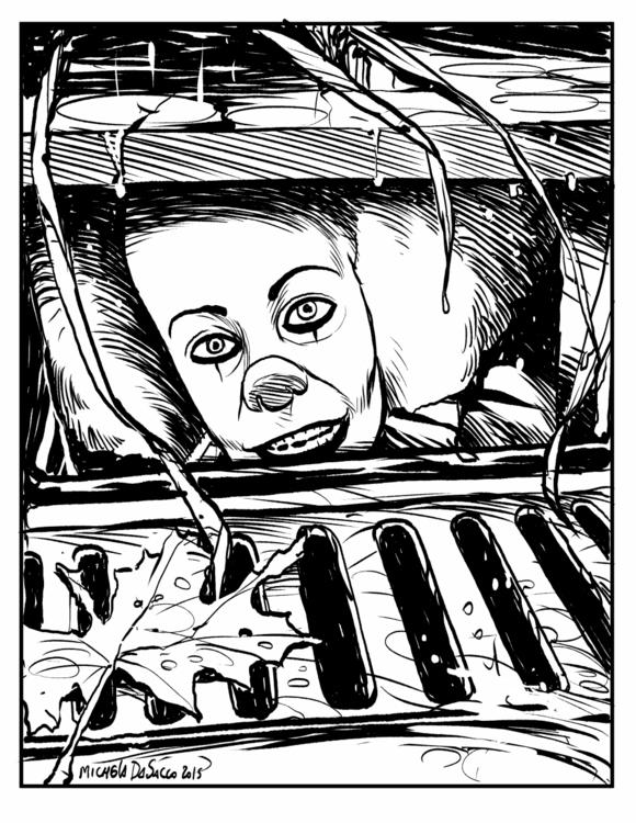 Homage - illustration, blackandwhite - micheladasacco | ello