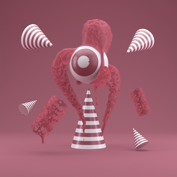 Pinky Octo - characterdesign, design - hoang_anh_ | ello