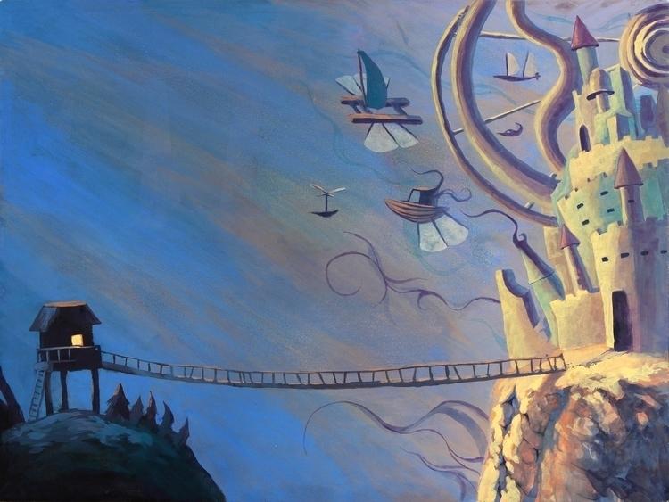 Book Illustration - Journey Unf - artstory | ello