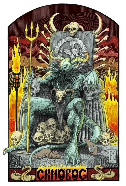 Crnobog Tchernobog Slavic deity - gambiroza | ello