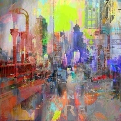 Downtown - art, digitalart, conceptart - ganechjoe   ello