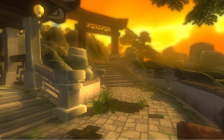 Mountain Temple - Unity Game Le - gusvqueiroz | ello