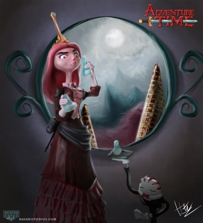 Princess Bubblegum - adventuretime - hasaniwalker | ello
