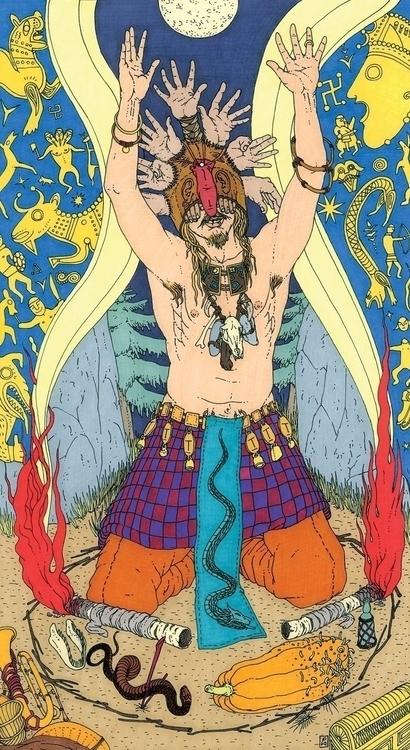 Il rito di Fafnir - illustration - gabriele-8497 | ello