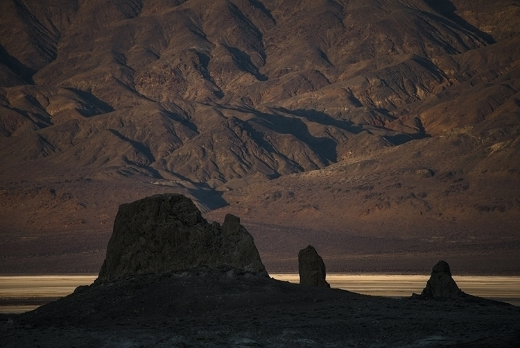 dry lake bed - photography, tronapinnacles - frankfosterphotography | ello