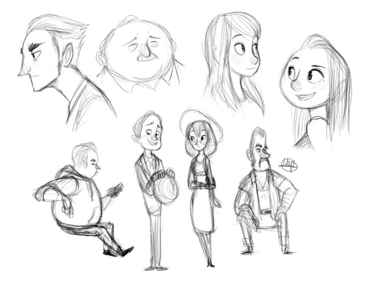 quick sketches - luigil-2352 | ello
