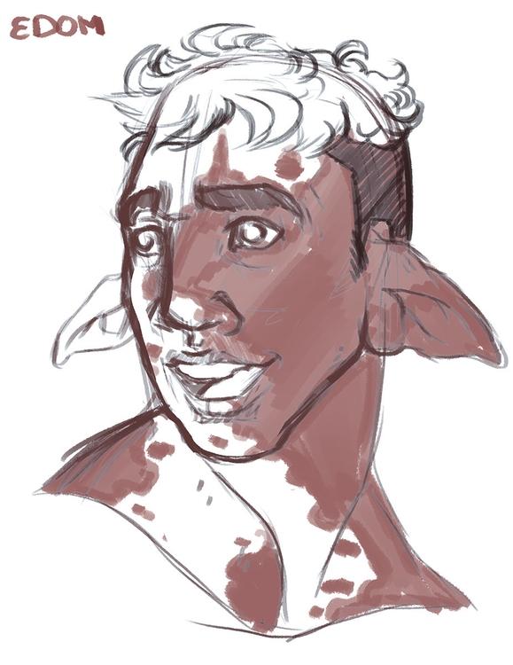 edom doodle - digitalart, elf - rottedmilk | ello