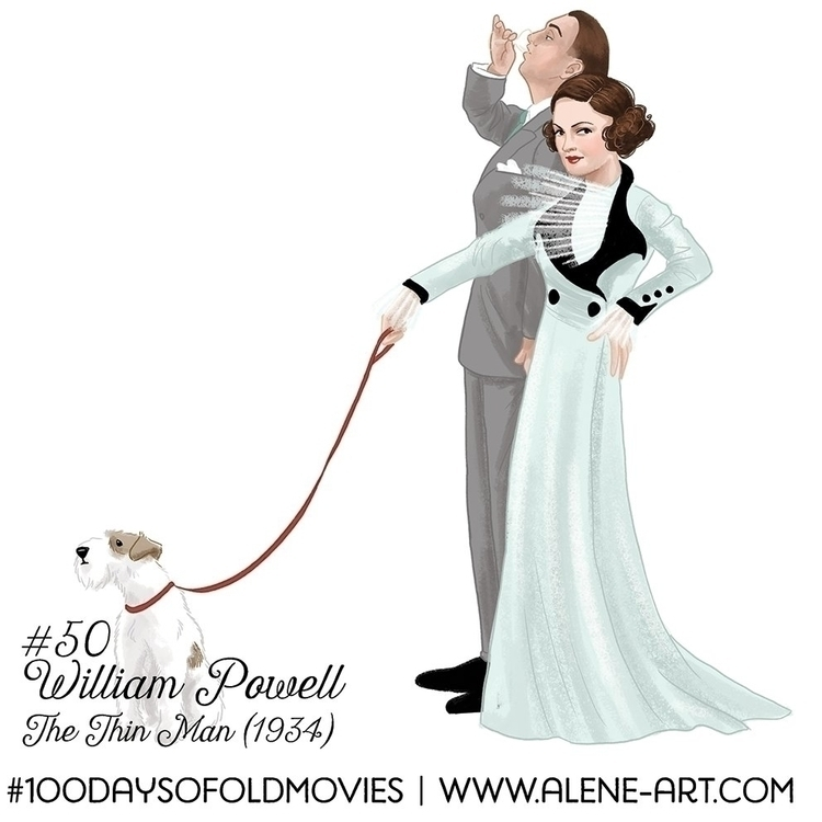 100 Days Movies: 49 50 Thin Man - aleneart | ello