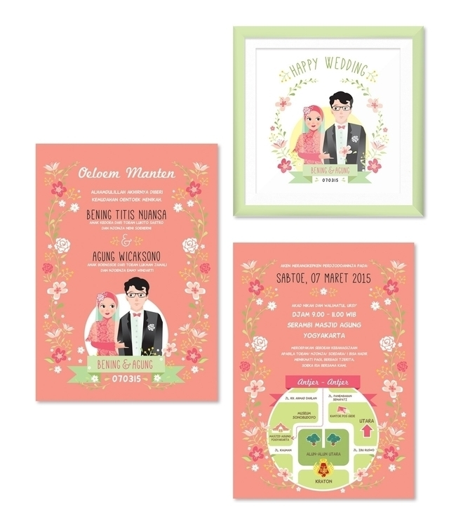 Bening-Agung Wedding Invitation - wirastuti | ello