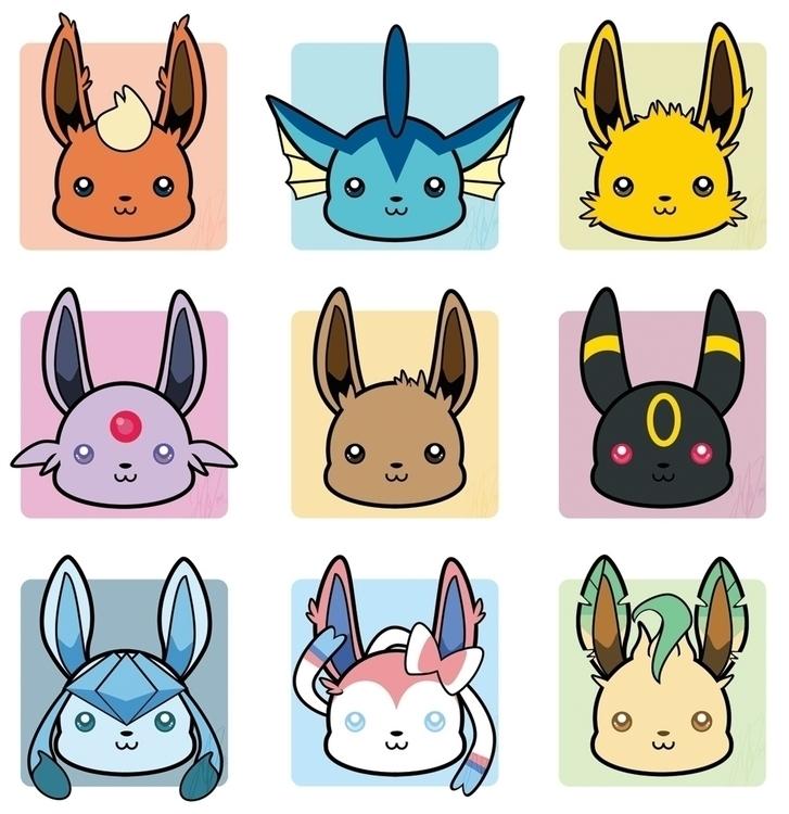 BunnyBrush, illustration, vector - bunnybrush | ello