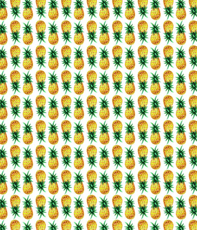 Bright pineapple pattern - illustration - naryzhnayao | ello