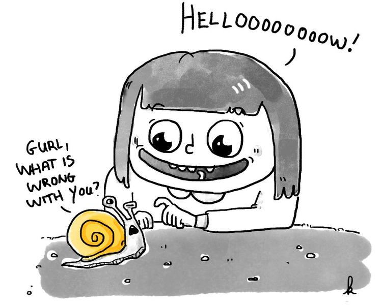 brother told snails golden shel - ktoons | ello