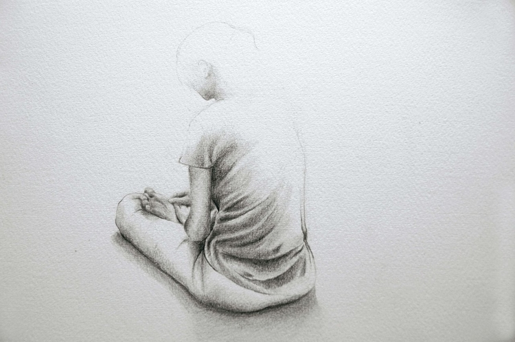Immerse Graphite paper - drawing - annieannie-9187 | ello