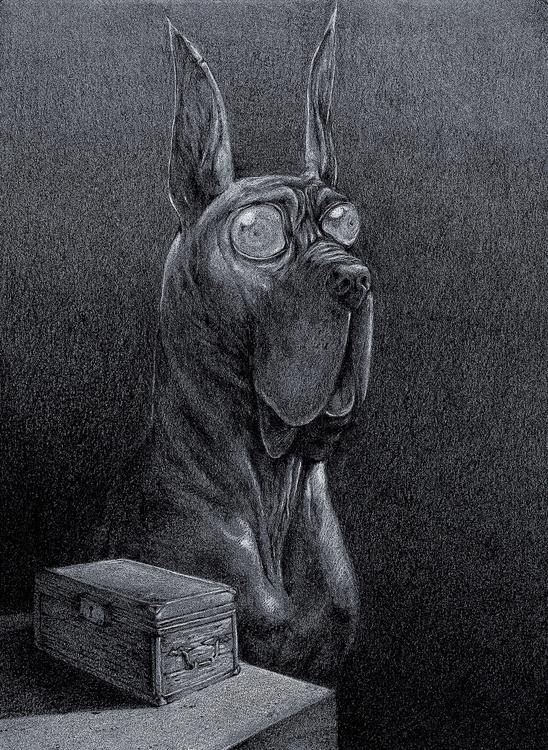 Il cane con gli occhi grandi ta - gabriele-8497 | ello