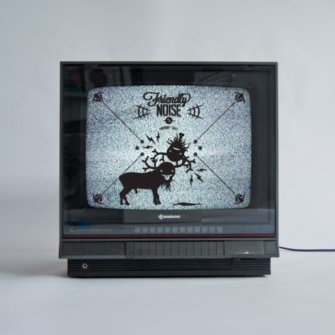 TV good - illustration, tv, blackandwhite - waaaw | ello