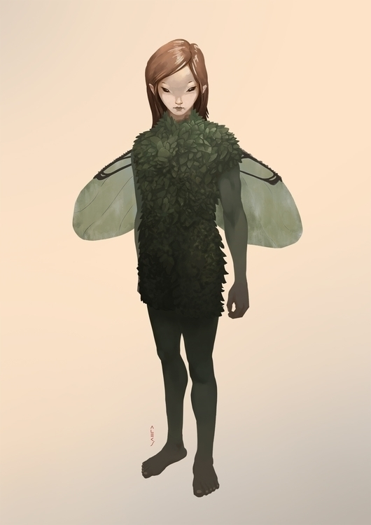 Elf - elf, characterdesign - alecs-1191   ello