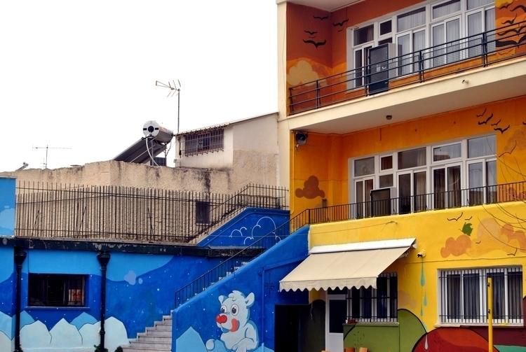 winter-autumn - mural, school, design - kaiman-6057 | ello
