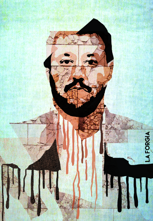 Matteo Salvini Italian politici - robertolaforgia-1040   ello