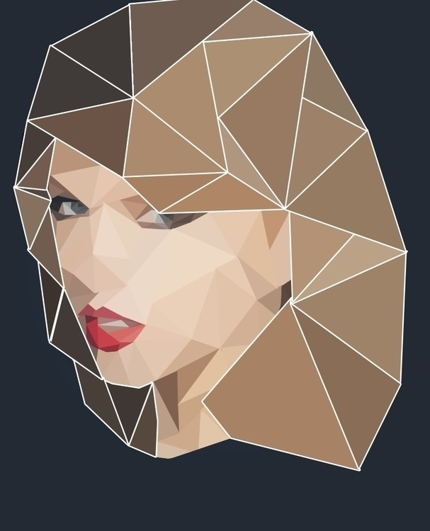 Poly Art - Taylor Swift June 20 - ohitsjammm | ello