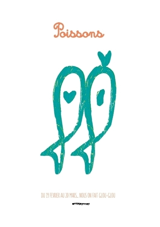 POISSONS - illustration, painting - floriane-9695   ello