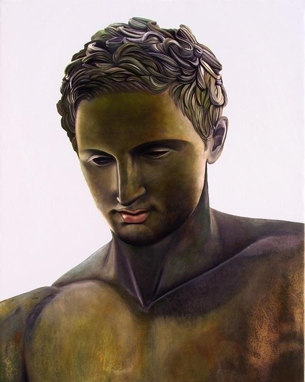 Greek Statue - Apoxyomenos (Pri - matteopaints | ello