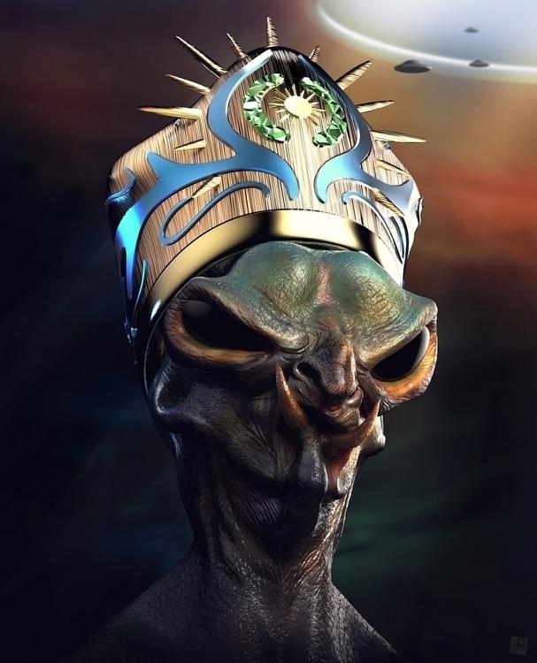 Lord Agartha - alien, agartha, ufo - tomjestic | ello