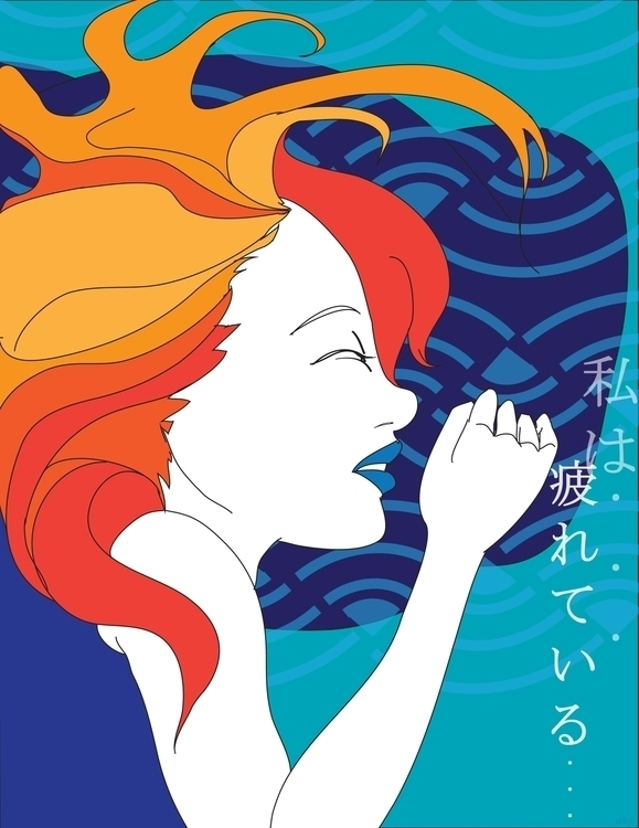 illustration series. kanji hira - creationflux | ello