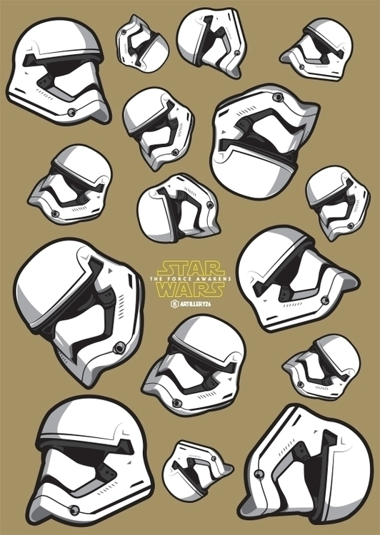 Order Stormtrooper - illustration - artillery26 | ello