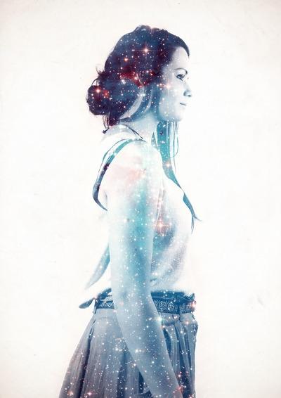 James McKenzie - galaxy, space, girl - jamesmckenzie | ello