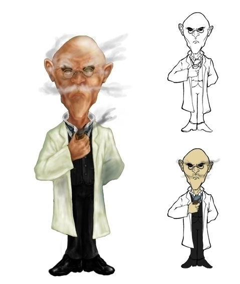 Professor Smog - waivisuals | ello