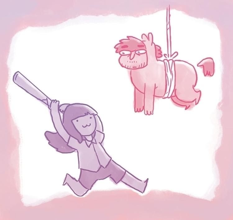 piñata - pinata, doodle - jjneto   ello
